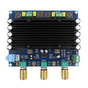 Image 2 - DC 12V 24V TPA3116 150w + 150w 2.0 ערוץ כפול סטריאו HIFI דיגיטלי אודיו מגבר לוח TPA3116D2 Amplificador