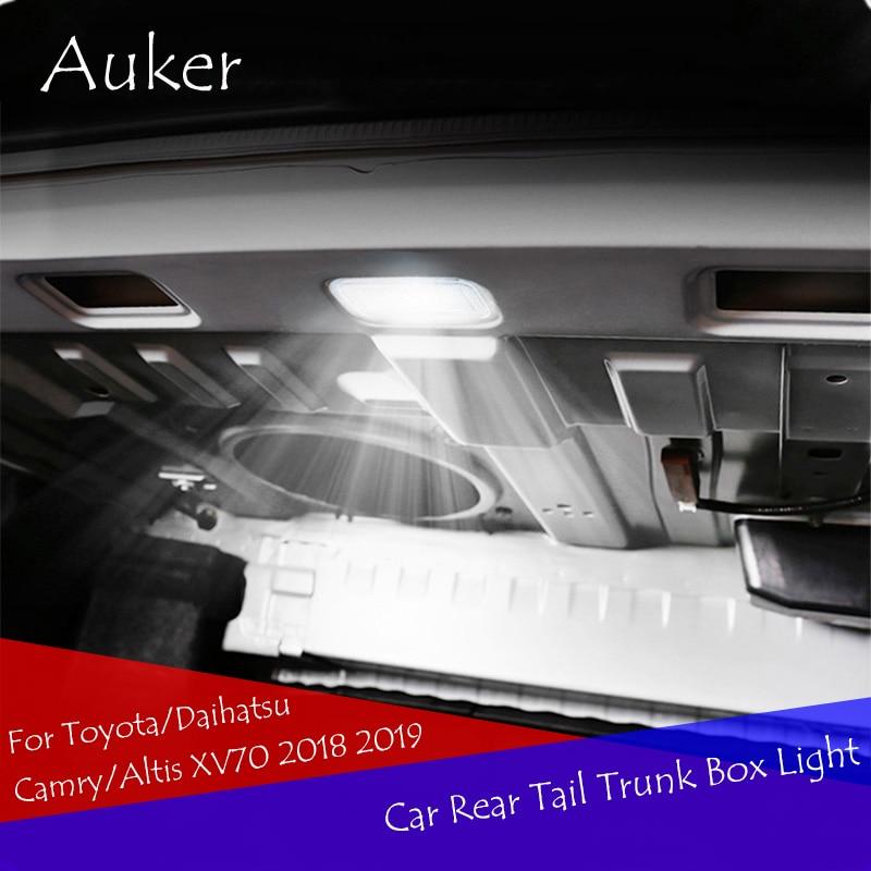 Car Styling Car Rear Tail Trunk Box Light Lamp Refit For Toyota/Daihatsu Camry/Altis XV70 2018 2019