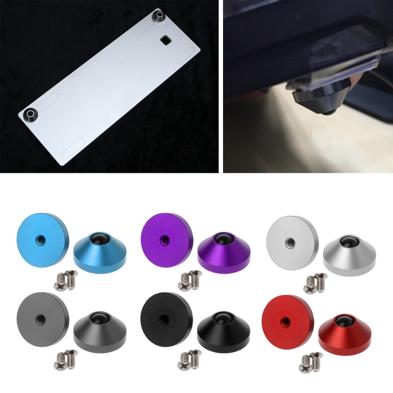 2 Pcs Mechanische Toetsenbord Voeten Geanodiseerd Aluminium Cnc Voeten Metal Case Met Schroeven Vouw-Weerstand
