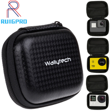 Portable Small Size Waterproof Camera Bag Case for Xiaomi Yi 4K Mini Box Collection for GoPro Hero 7 6 5 4 Sjcam Accessories все цены