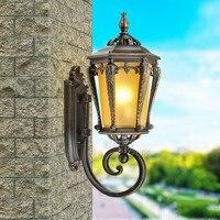 Европейские антикварные проход коридора бра двор балконные двери Вилла водонепроницаемый открытый бра лампы ap8071044