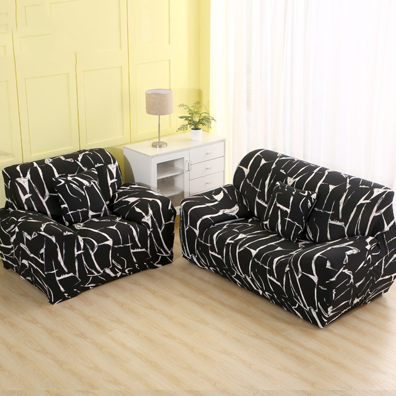 T Shaped Sofa Covers: Stretch Sectional Sofa Cover Universal L Shaped Sofa