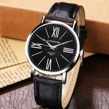 2017 Fashion Business Style Quartz Montre Hommes Montres Top Marque De Luxe Célèbre Montre-Bracelet Pour Hommes Homme Horloge Relogio Masculino