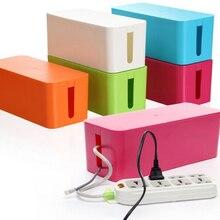 Kabel Aufbewahrungsbox Draht Management Buchse Sicherheit Tidy Organizer Lösung 0526