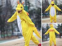 Animal Costume Cosplay Adult Pyjamas JP Animal Blue Yellow Dragon Dinosaur Kangaroo Giraffe Bear Lion Pajamas