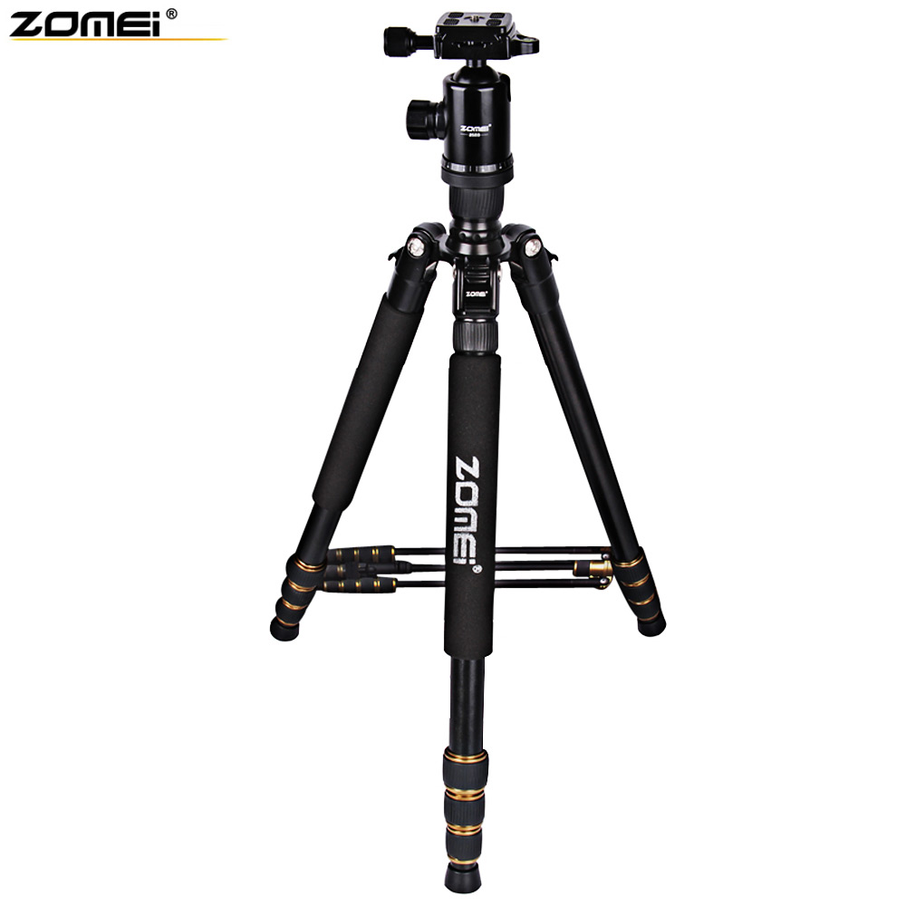 Zomei Z688 64 Inches Professional Aluminum Photographic Tripod Travel Compact Monopod & Ball Head for Digital DSLR Camera free shipping matton t 254 bm 10 professional photographic travel compact aluminum tripod for digital video mirrorless camera