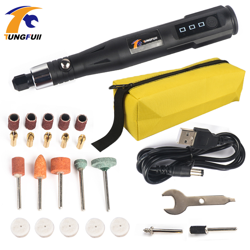 Mini Electric Rotary Drill Engraving Pen 30W Professional Grinding Milling Polishing Tools Electric Grinding Pen Drill Tool