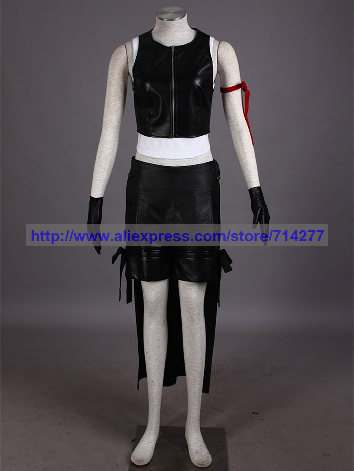 High Quality Final Fantasy VII Tifa Cosplay Costume Halloween Christmas Party Gift