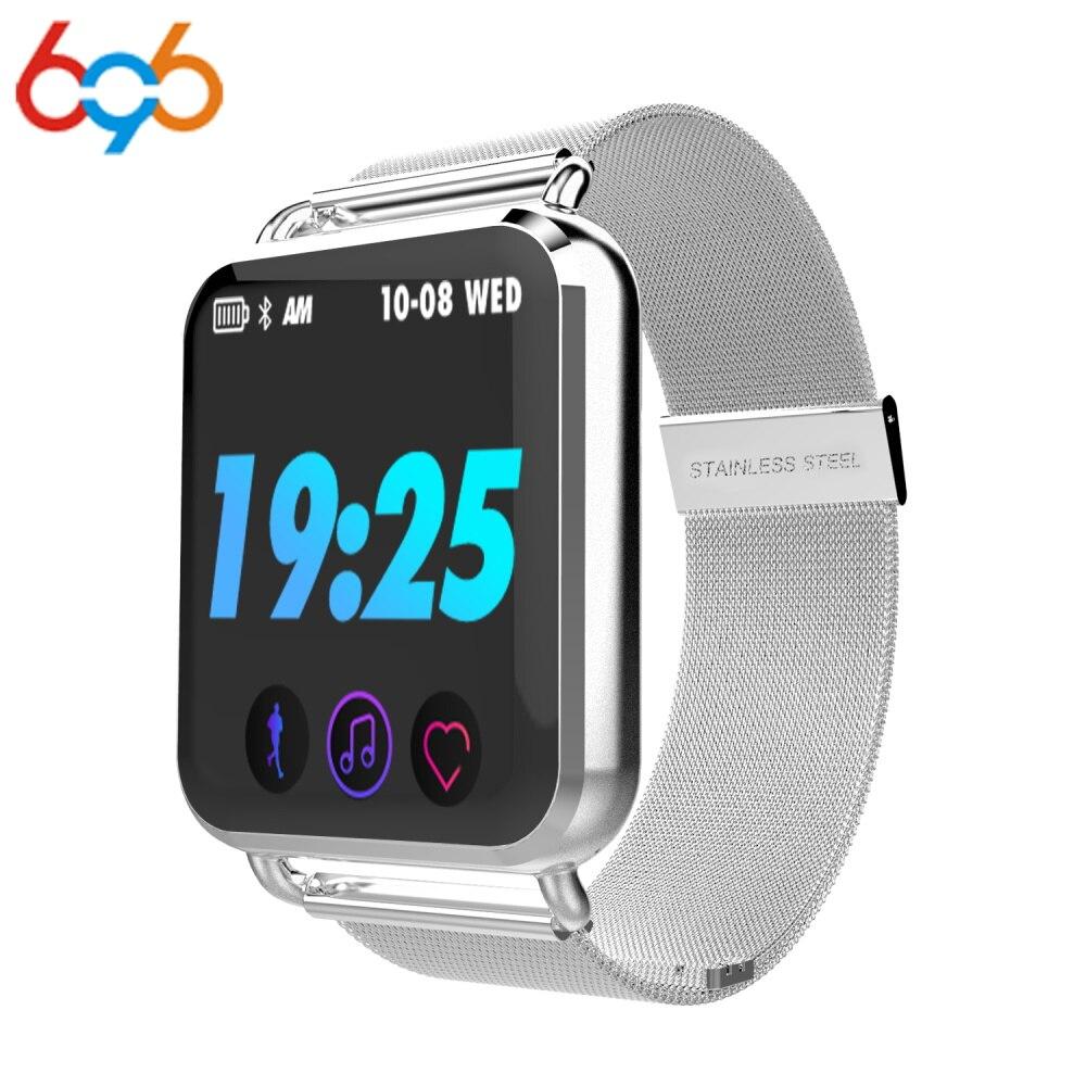 Q3 hommes intelligents regarder dynamique pression d'oxygène podomètre Fitness Tracker fréquence cardiaque Smartwatch