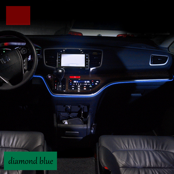 lsrtw2017 car styling car interior Atmosphere lights strip for honda odyssey 2015 2016 2017 2018 honda odyssey