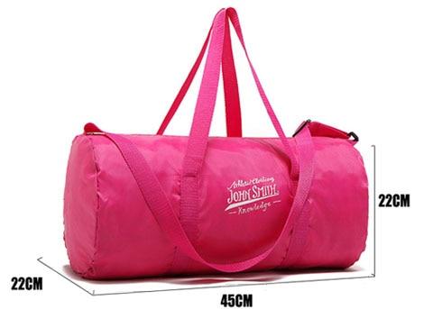 Lightweight Outdoor Male Yoga Duffel Handbags Sports Bag Training Gym Bag Men Women Fitness Bags Travel Shoulder Handbag XA534WA