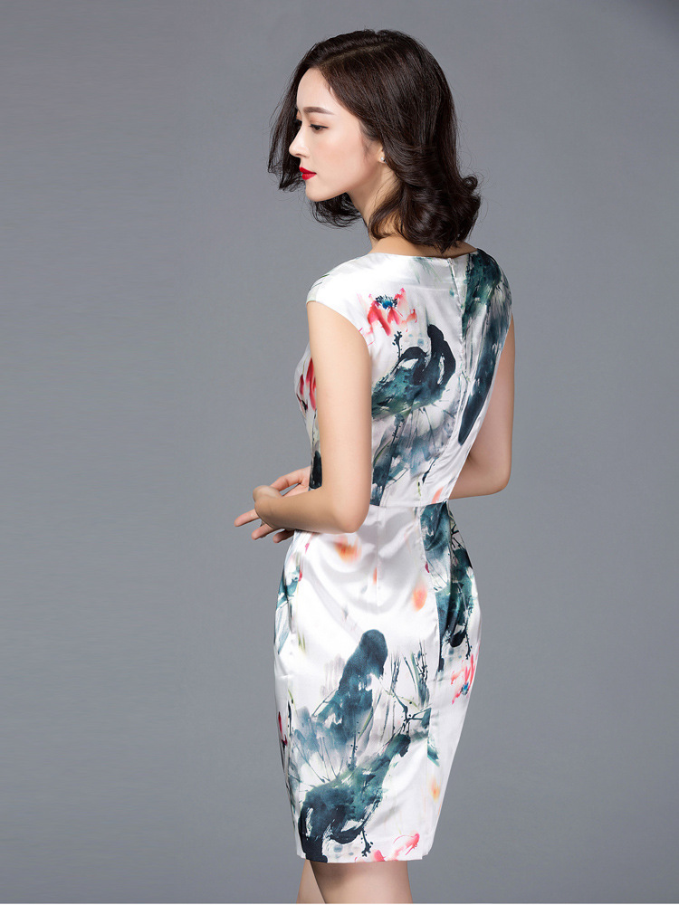 Feng Shui Kleidung chinesische feng shui tinte kleider neue mode verbesserte kurzarm