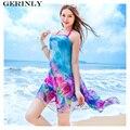 Pareo Scarves 180*150cm Sexy Women Summer Scarf Butterfly Love Beach Bikini Cover Up Shawls Plus Size Ladies Chiffon Sarongs New