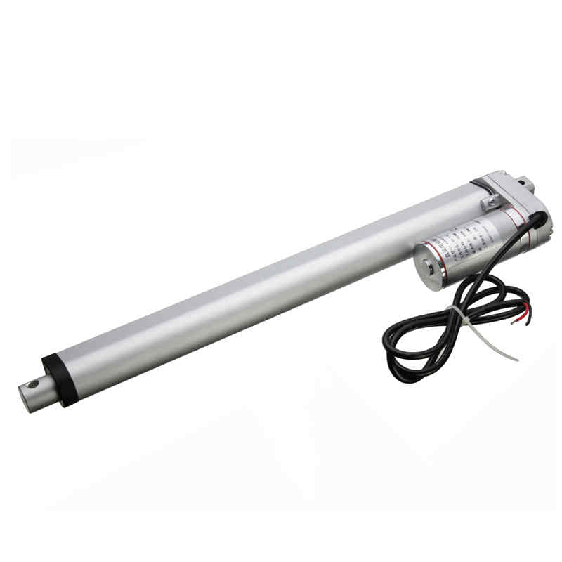 1x DC12V 16 INCH 900N 400mm Linear Actuator Motor Stroke Heavy Duty Linear Guides Reliable performance new 400mm multi function linear actuator motor stroke heavy duty dc 12v 75kg 165lbs reliable performance