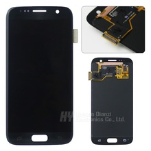 100% Original test good for Samsung Galaxy S7 G930 G930F/A/T/P LCD display touch screen Digitizer with frame freeshipping