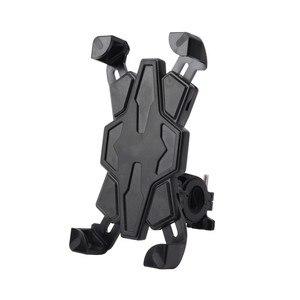 Image 3 - New Bicycle Motorcycle Handlebar Mount Holder Cradle Bracket Stand Support For Most Smartphones Bike Cellphone Bracket Tools