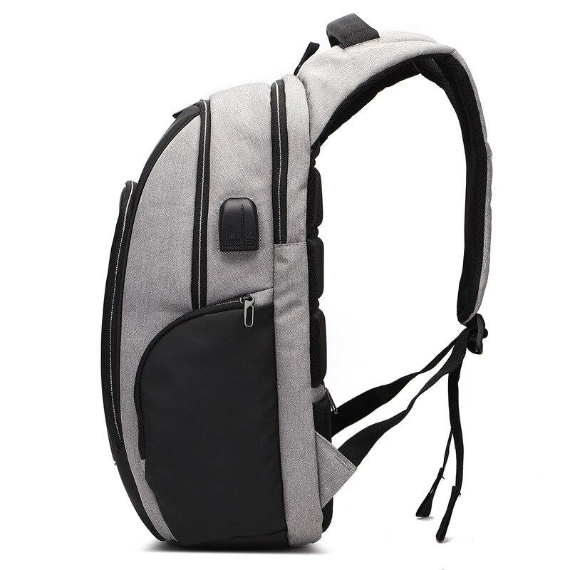 Nouveau Anti voleur mode hommes sac à dos multifonctionnel étanche 15.6 pouces pochette d'ordinateur homme USB charge voyage sacs à dos Mochila-in Sacs à dos from Baggages et sacs    3
