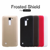 Original Nilkin Super Frosted Shield Hard Back PC Cover Case For LG K10 Phone Case Screen