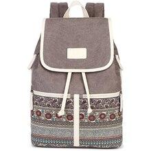 Женщины рюкзак сумка холст корейский back pack школьный рюкзаки для девочек-подростков путешествия рюкзак mochila эсколар bolsa feminina