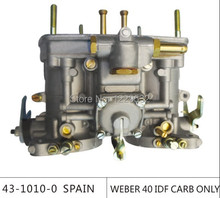 Sale!!!weber carburetor 40 IDF CARB para bug/bettle/vw  with air horn dellorto carburetor