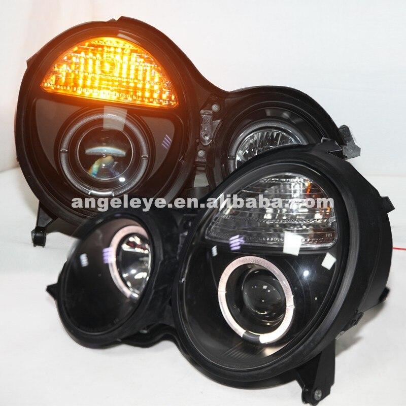 For Benz For W210 E200 E230 E240 1999-2001 Year LED Head Lamp Headlights SN