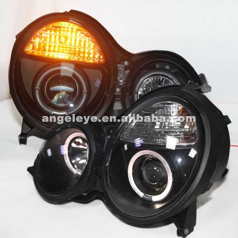Pour Benz pour W210 E200 E230 E240 1999-2001 an LED phares phares SN