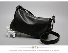 Frauen der einzelnen schulter tasche aus echtem leder tasche reisetasche