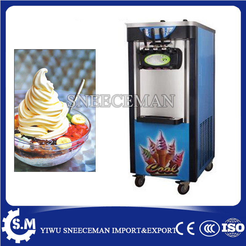 30-36L/H vertical Soft ice cream machine maker for business use commercial soft ice cream making vending machine edtid new high quality small commercial ice machine household ice machine tea milk shop