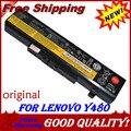 Bateria do portátil para Lenovo IdeaPad G480 Y480 Z580 G580 Y485 Y580 Z380 G485 Y485N Y580N Z585 G585 Y480N Y480P Y485P Y580P E531