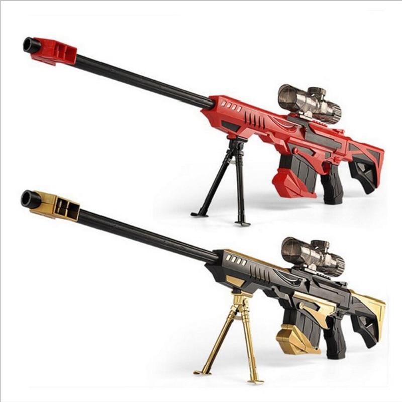 Rifle soft bullet live cs gun plastic toys sniper rifle pistol water paintball gun outdoor toys paintball elite air soft gun toy