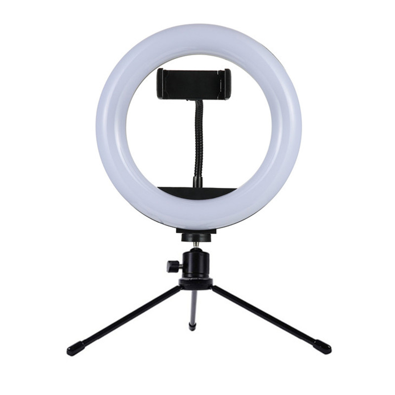 Studio LED Light Ring with Tripod Photography for Smartphones