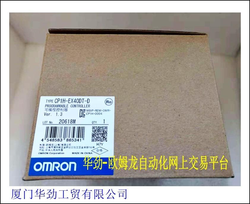 Programmable Controller CP1H-EX40DT-D Original Genuine Brand New Stock