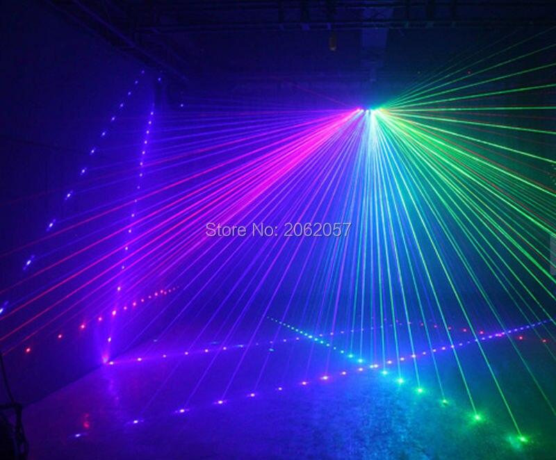 Nytt anlänt Fanformad sexögra skannande laserljus för DJ disco - Kommersiell belysning - Foto 6