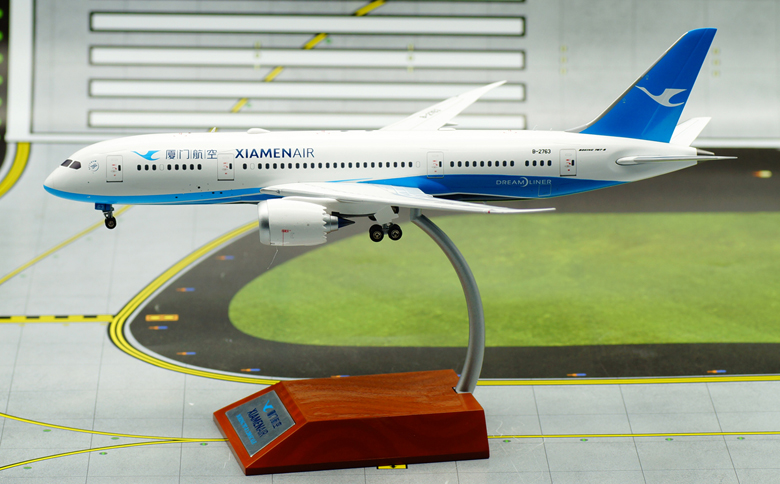 IF 1/200 Xiamen Airlines Boeing B787-8 aircraft model alloy B-2763 IF7870316 Favorites Model jc wings 1 200 boeing 747 8 aircraft alloy model the simulation model alloy aircraft favorites model