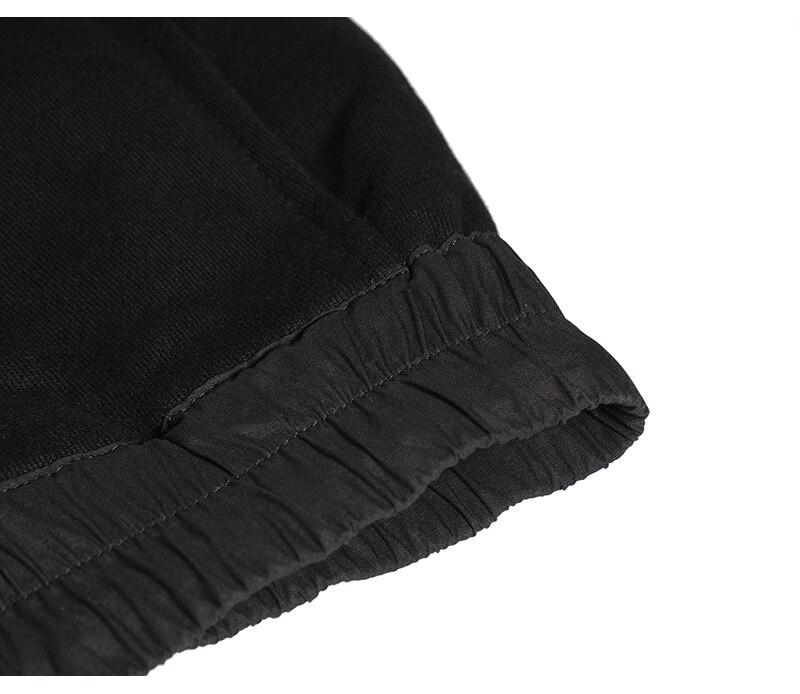 90 S nouveau HipHop RO style haute qualité modèle classique INS joker Chao personnes Terry coton noir loisirs pantalons de survêtement hommes femmes Oversize - 5