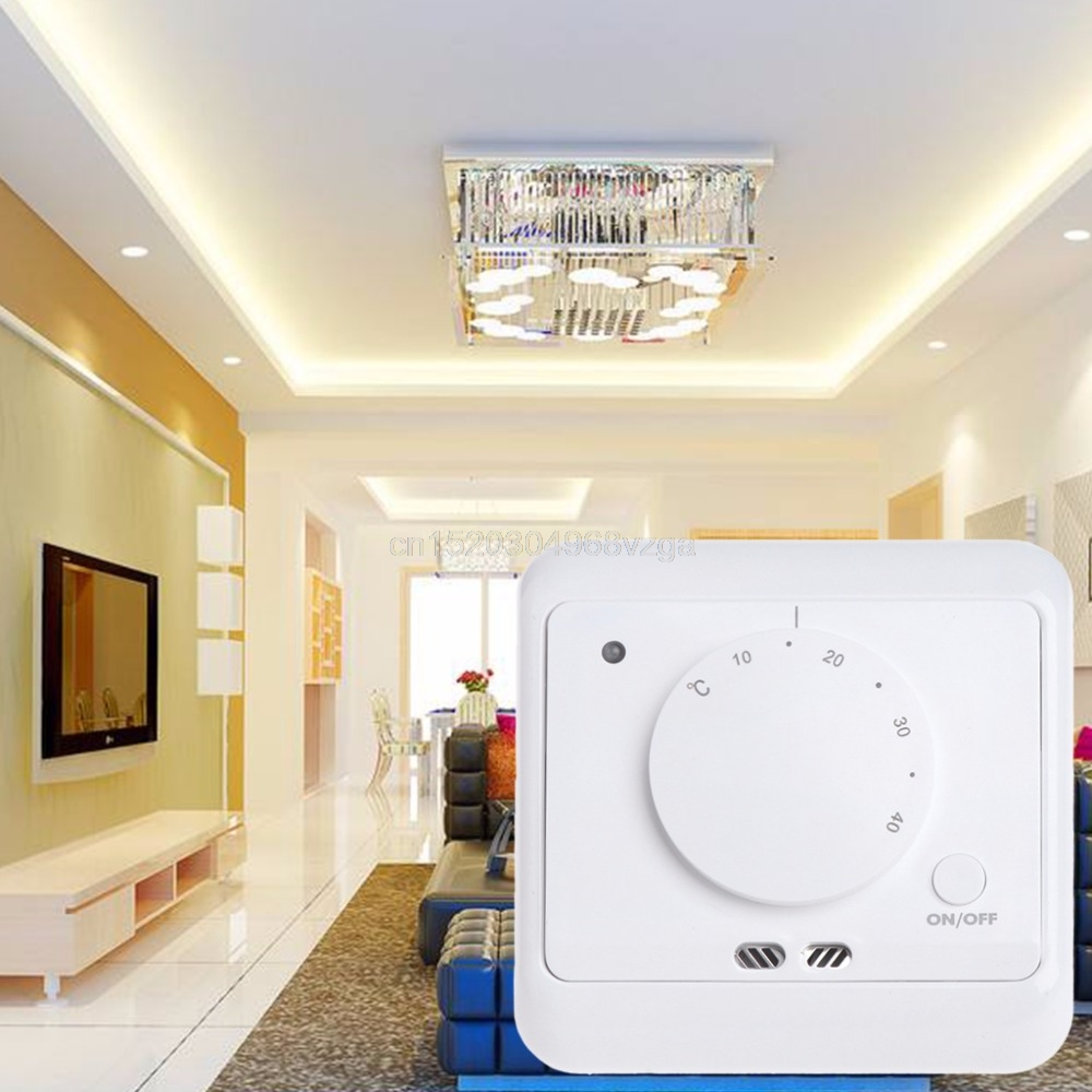 Floor Heating Thermostat 16A Digital Room Termostat 230V Temperature Controller M20 dropshipping