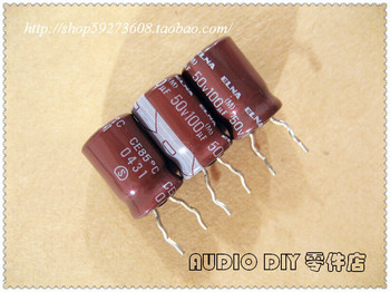 2020 hot sale 30PCS/50PCS ELNA RA2 Series 100uF/50V Electrolytic Capacitor for Audio (Package in Thailand) free shipping 2020 hot sale 10pcs 30pcs elna silmic ii for capacitor brown magic 63v100uf 100uf 63v audio electrolytic capacitor free shipping