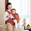 2016 Hot Organic Cotton Ergonomic Baby Carrier Adjustable Baby Sling with Activity & Gear Portable Multifunctional Kid Carriage