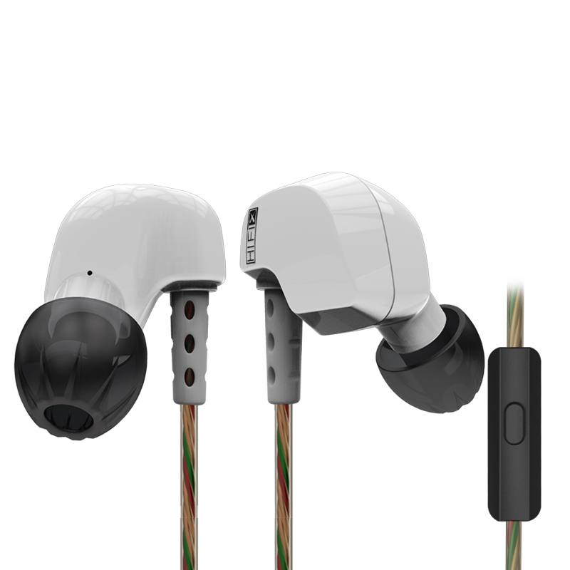 Original KZ HD9 Ear Hook Earphone HiFi Sport Earbuds Copper Driver Running Headsets With Mic For Iphone Samsung Mobile Phone