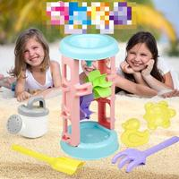 Children Beach Funnel Toy Baby Play Sand Tool Set Boys Girls Play Water Tool Set Toy