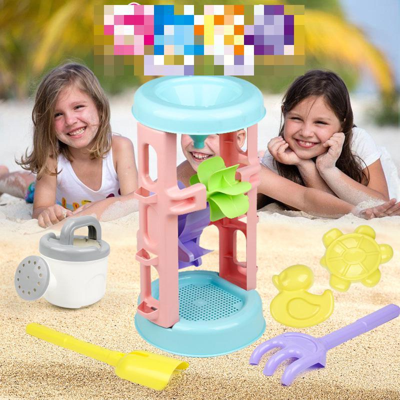 Enfants plage entonnoir jouet bébé jouer sable outil ensemble garçons filles jouer eau outil ensemble jouet