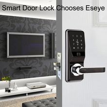 цена на Eseye Smart Lock Intelligent Electronic Door Locks Smart Safe Biometric Fingerprint Door Lock Fingerprint Password & RFID Unlock
