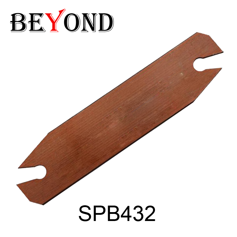 SPB432,spb 32 -4 Indexable Part Off Blade 32mm High Suit For Smbb 2032/2532 Used Sp400 Inserts,for Lathe Machine,Cutting Blades free shiping smbb 2526 part off block indexable parting off tool stand holder 25mm high blade 26mm tool post for lathe