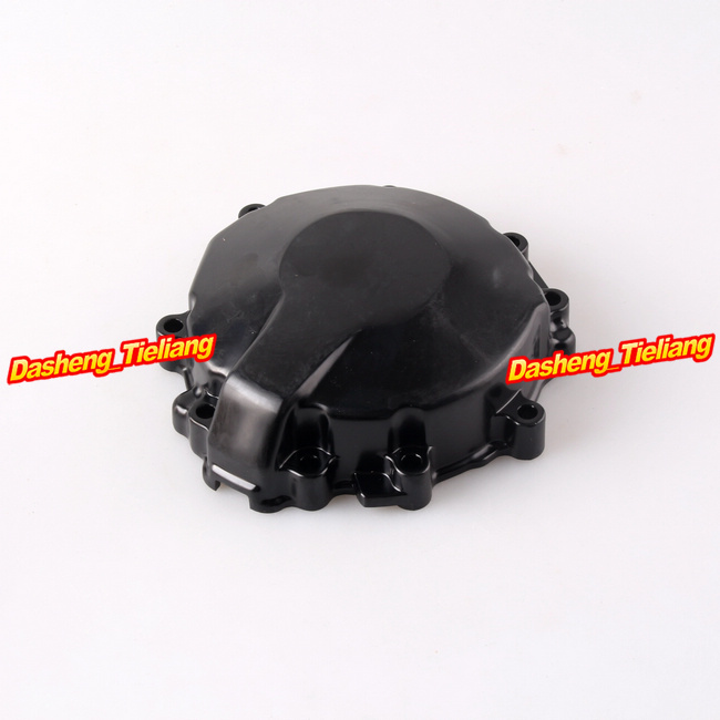 цены Left Engine Stator Crank Case Generator Cover Crankcase For Kawasaki ZX6R 2009 2010 2011 CNC Aluminum Alloy Black