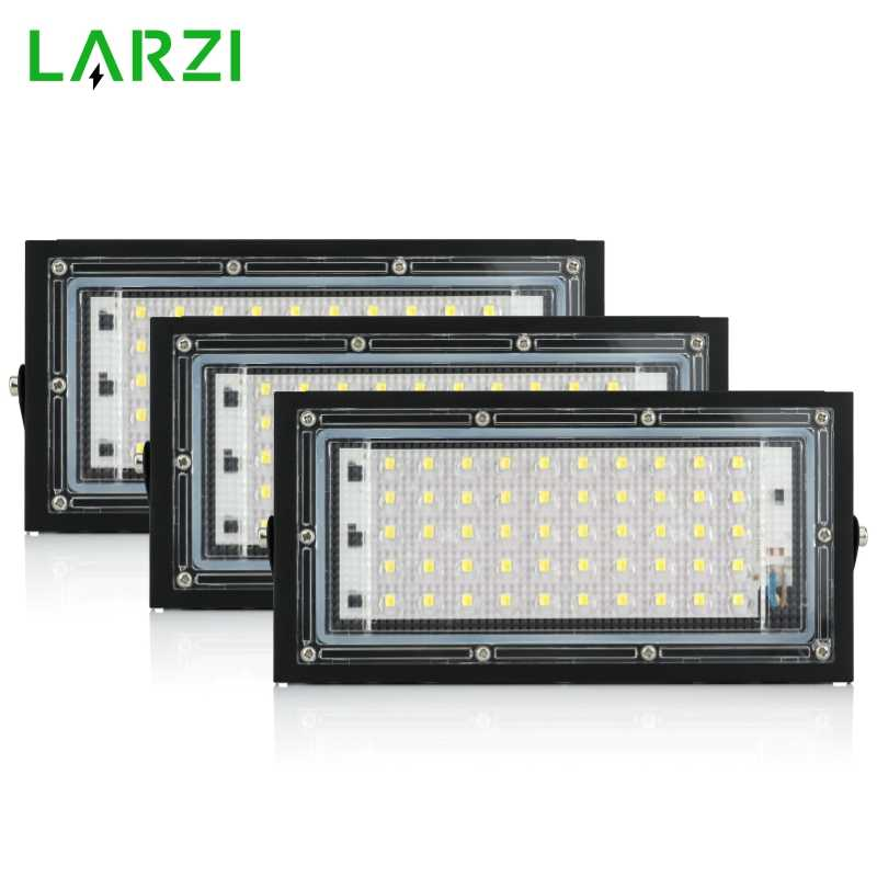 Led Flood Light 50W FloodLight 220V 240V LED street Lamp Waterproof Landscape Lighting IP65 Led Spotlight Outdoor Lighting