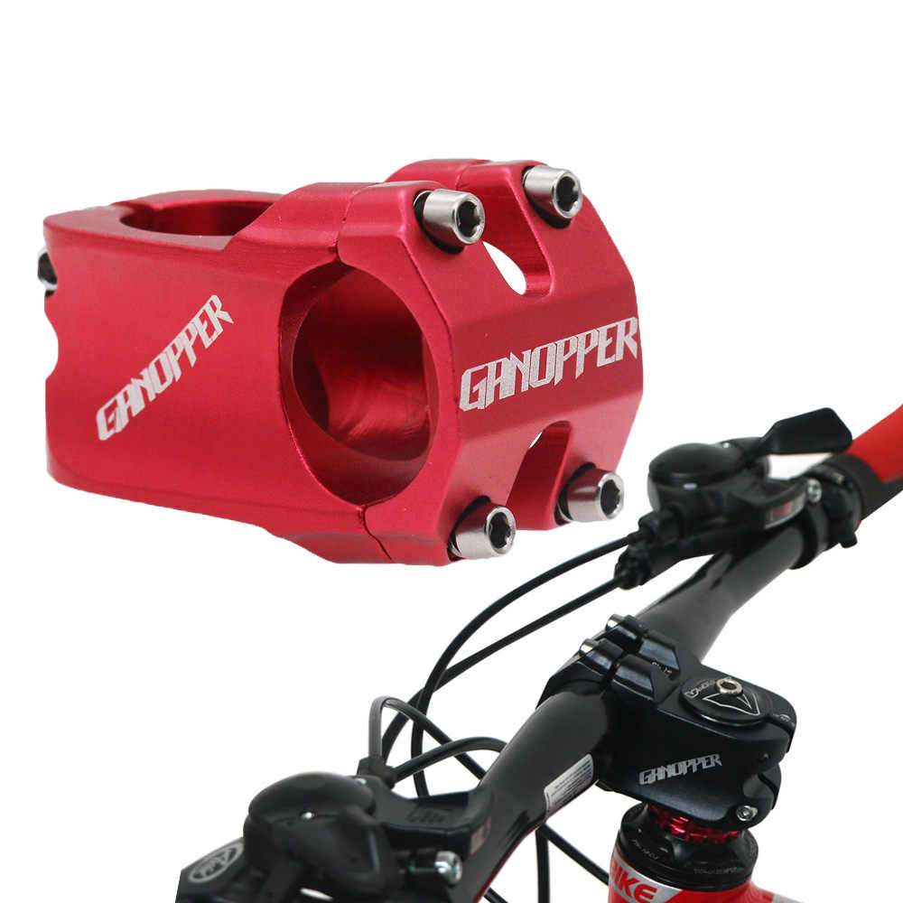 Colorful Bike Handlebar Stem MTB Stem 31.8*45mm 7degree Ultralight Stem BMX