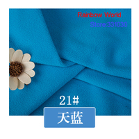 21 Sky Blue 1 Meter Soft Brushed Polar Fleece Fabric For DIY Colthes Stuffed Toys Blanket