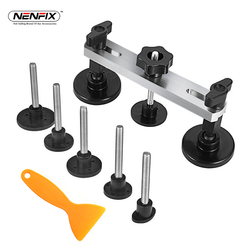 PDR Paintless Dent Repair Hand Tools Kit Set Instruments Car Body Hail Damage Fix Bridge Pulling Dent Adhesive Glue Removal Tabs