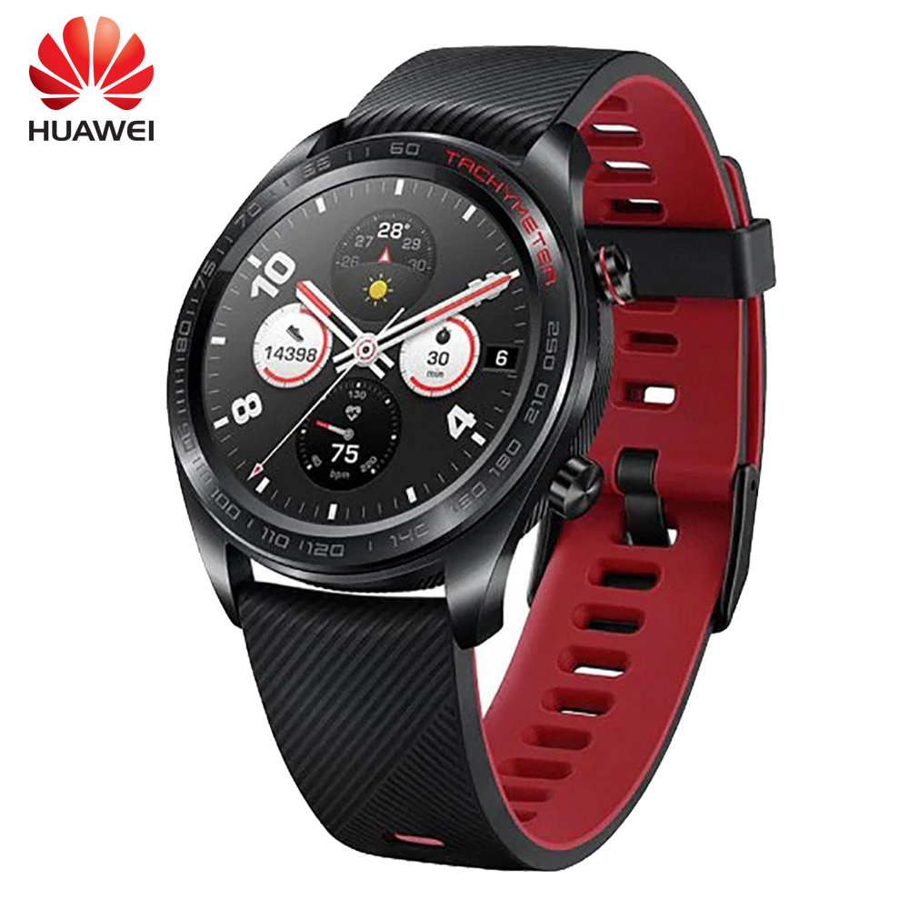 [IN STOCK] Huawei Honor Magic Multi Sports NFC GPS Smart watch 5ATM Heart Rate Fitness Tracker Smartwatch For Android iOS Phone[IN STOCK] Huawei Honor Magic Multi Sports NFC GPS Smart watch 5ATM Heart Rate Fitness Tracker Smartwatch For Android iOS Phone