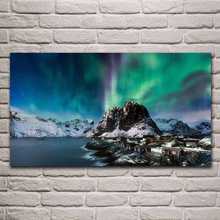 THE LOFOTEN ISLANDS Norway Travel Poster Home Wall Art